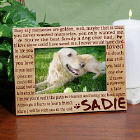 Til' the End Pet Memorial Wood Picture Frame 912981