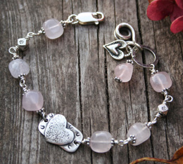 healing bracelet for a broken heart - healing jewelry