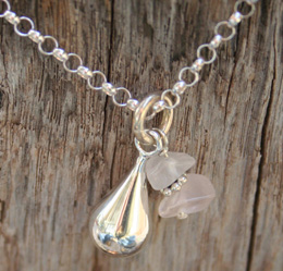 healing tears memorial necklace